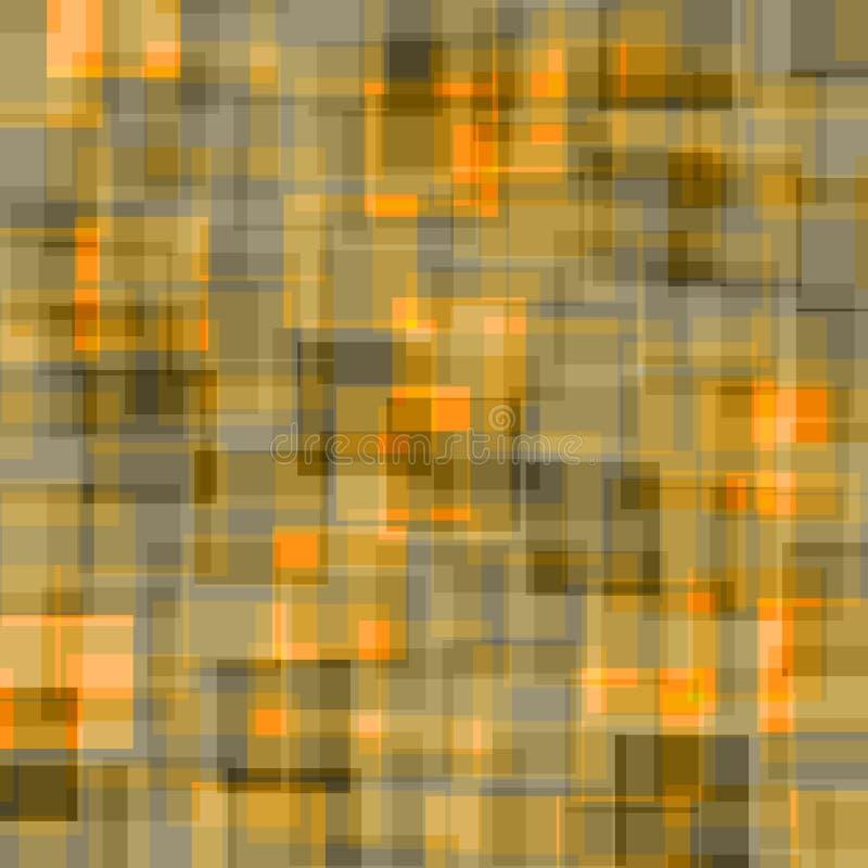 zielona tła pomarańcze ilustracja wektor