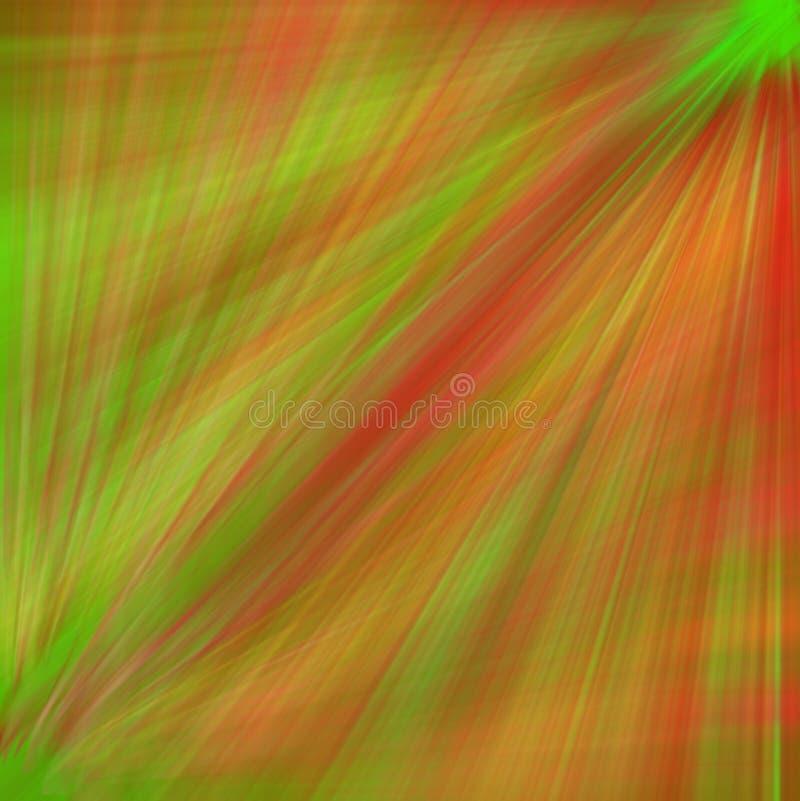 zielona tło czerwień zdjęcie royalty free