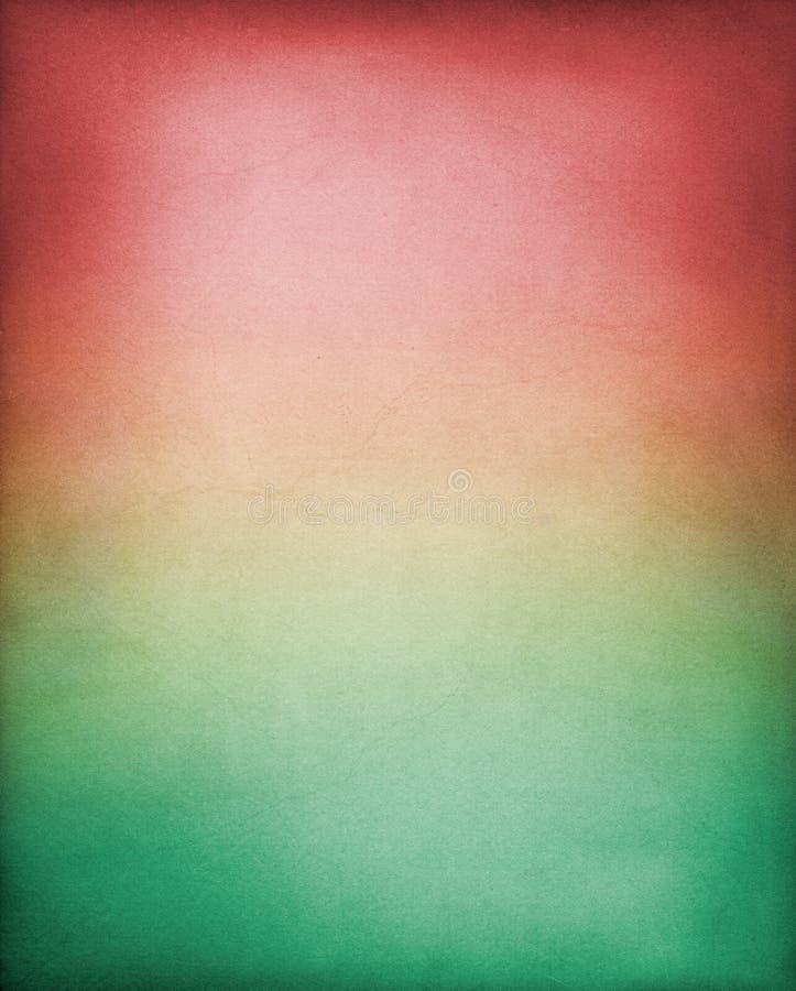 zielona tło czerwień fotografia stock