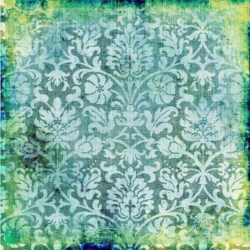 Zielona tapeta ilustracji