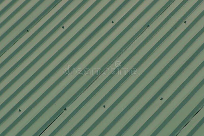 Zielona tekstura metal ściany ogrodzenie zdjęcia royalty free
