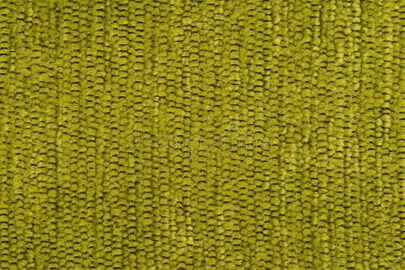 Zielona tkaniny tekstura obrazy stock