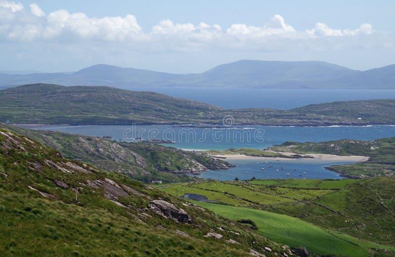 Zielona wyspa Irland obrazy royalty free
