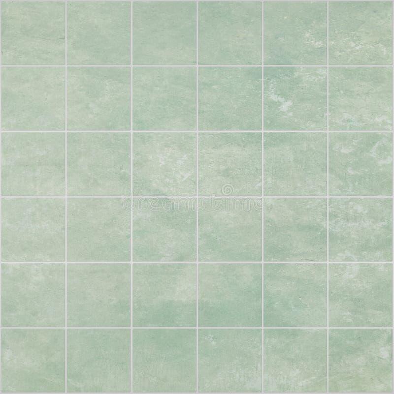 zielone łazienek płytki zdjęcie stock