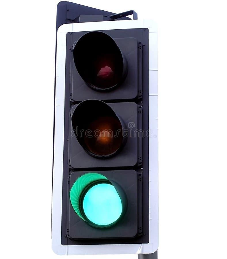 zielone światło zdjęcia stock