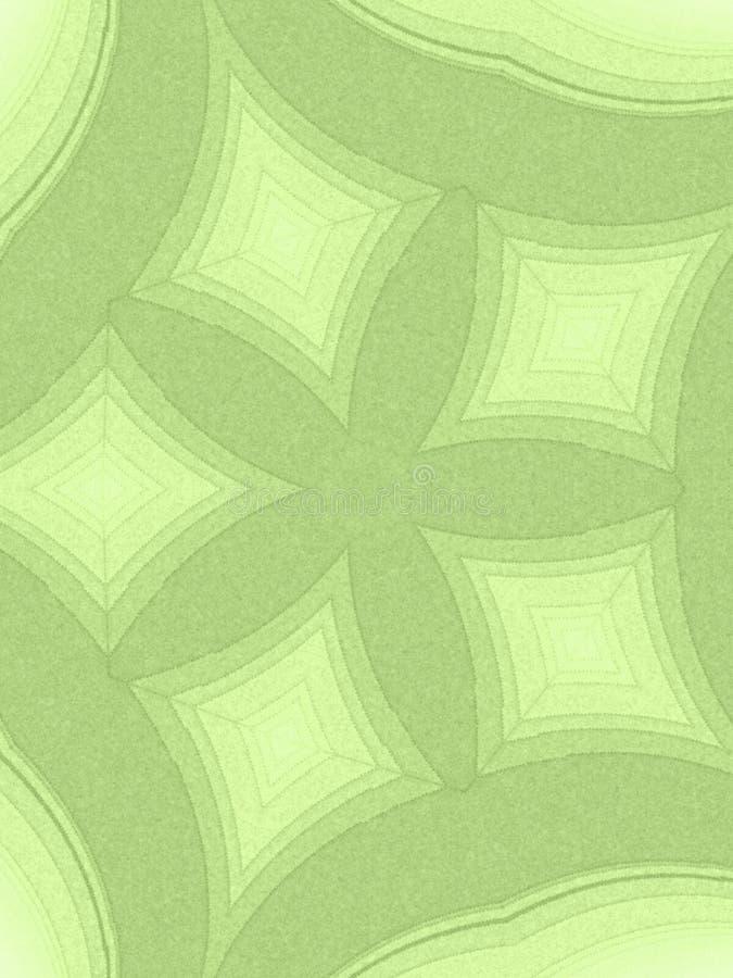 zielone światło abstrakcjonistyczni wzory obrazy stock