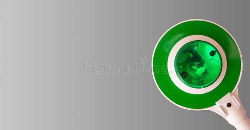 Zielone światło akcyjna fotografia, światła ruchu pojęcia sztandaru tło zdjęcia stock