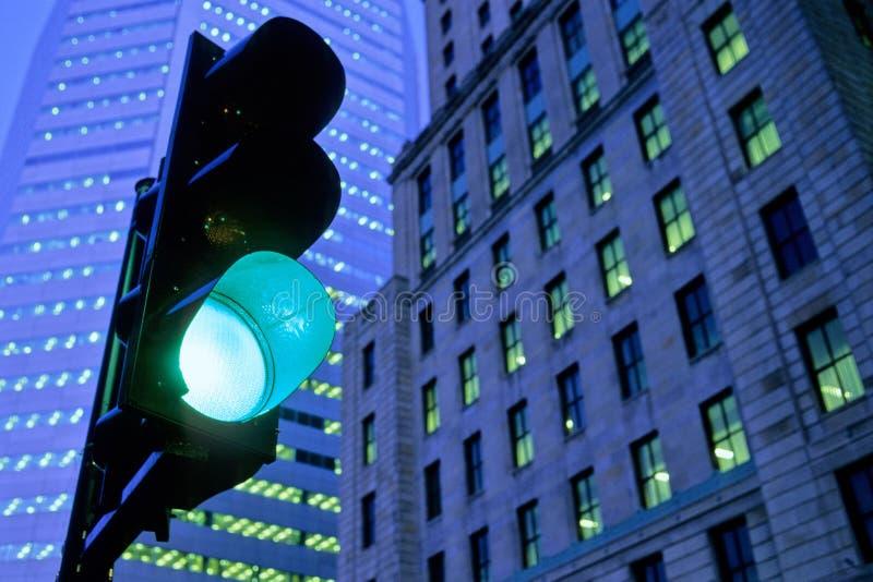 zielone światło ruchu obrazy royalty free