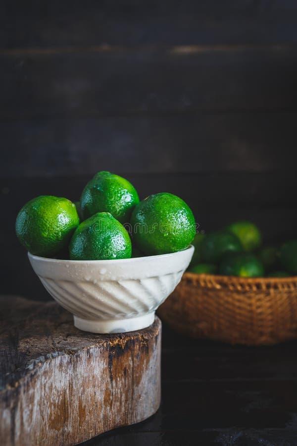 zielone cytryny obraz royalty free