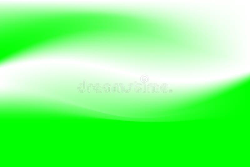 zielone fale royalty ilustracja