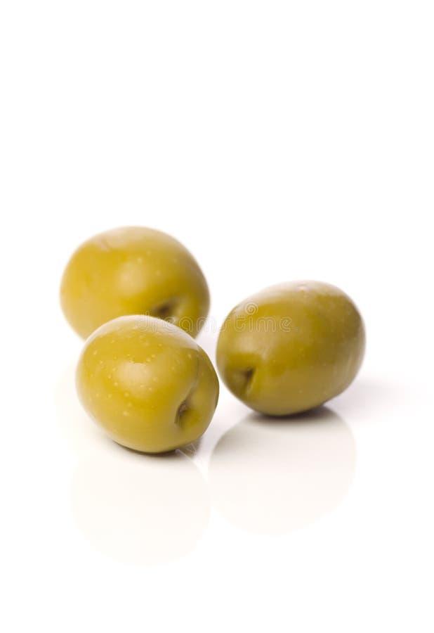 zielone Grek oliwki obrazy stock