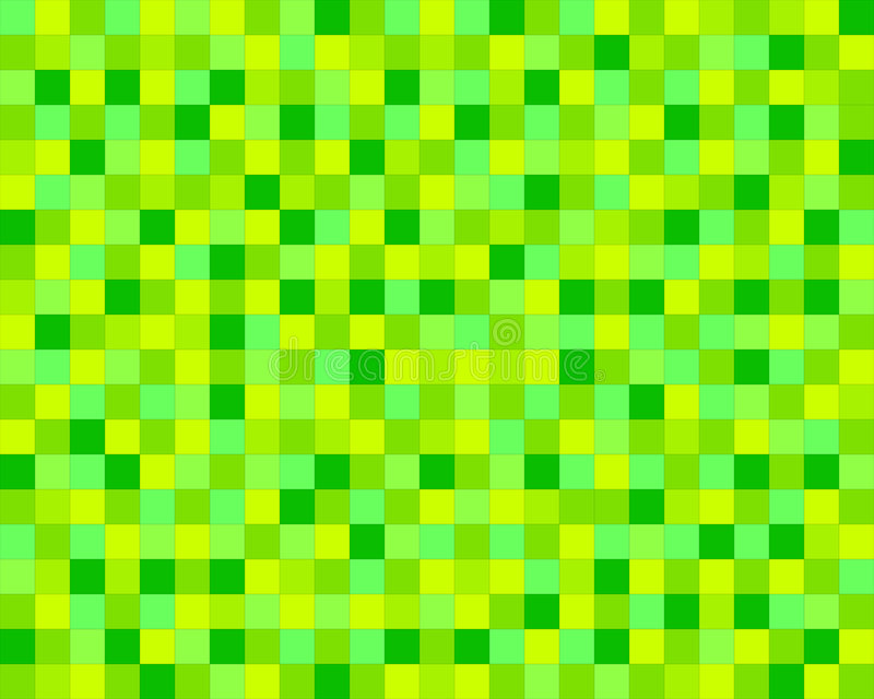 zielone kafli. ilustracja wektor