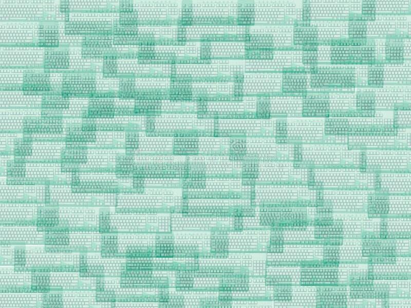 zielone klawiatury zdjęcie royalty free