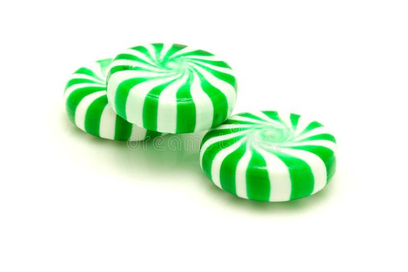 zielone miętówki zdjęcie stock