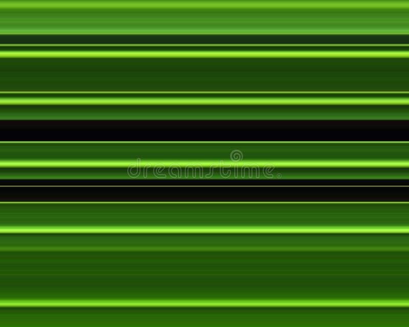 zielone paski royalty ilustracja