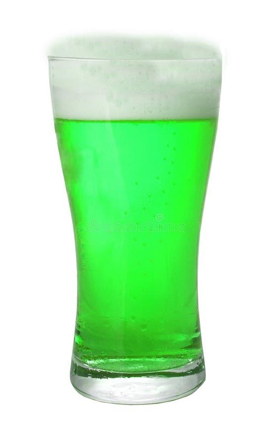 zielone piwo fotografia stock