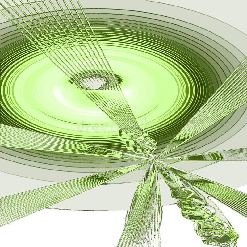 zielone pobór ton ilustracji