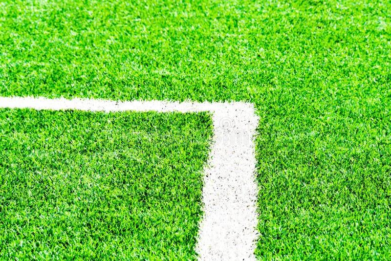 zielone pola trawy tła futbolowa konsystencja obraz royalty free