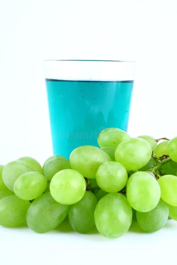 zielone sok z winogron zdjęcie stock