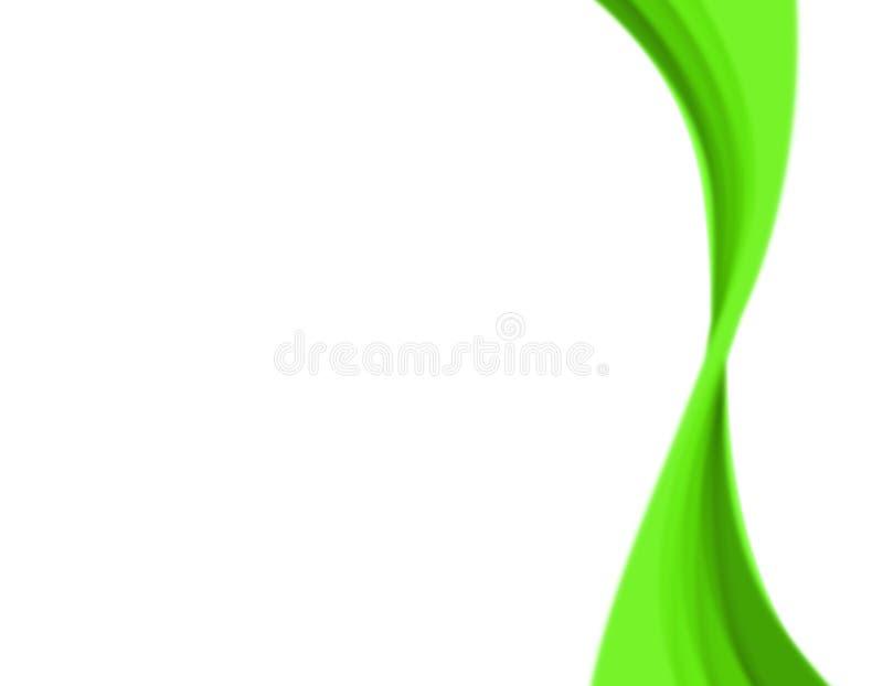 zielone streszczenie kwiatek ilustracja wektor