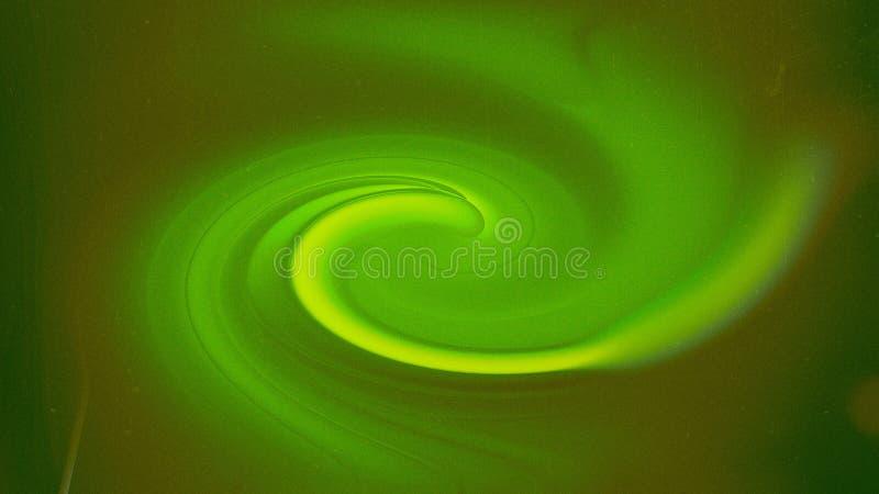 Zielonego Żółtego Vortex tła graficznej sztuki projekta Piękny elegancki Ilustracyjny tło ilustracja wektor