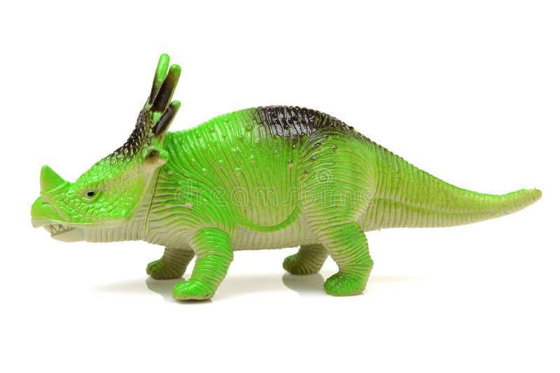Zielonego dinosaura zabawka zdjęcie royalty free