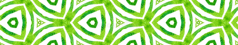 Zielonego kalejdoskopu Bezszwowa Rabatowa ślimacznica Geometr ilustracja wektor