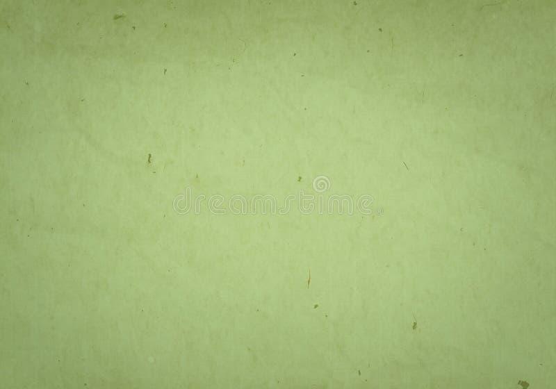 Zielonego papieru ściana zdjęcie stock