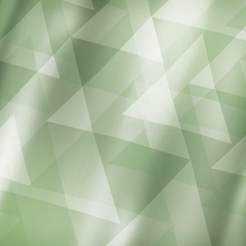 Zielonego tła abstrakcjonistyczny projekt ilustracja wektor