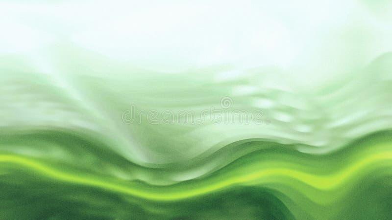 Zielonego Wodnego li?cia t?a graficznej sztuki projekta Pi?kny elegancki Ilustracyjny t?o ilustracja wektor