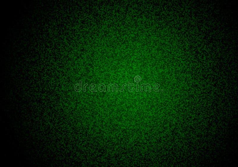 Zielonego zmroku textured gradientowy tło ilustracja wektor