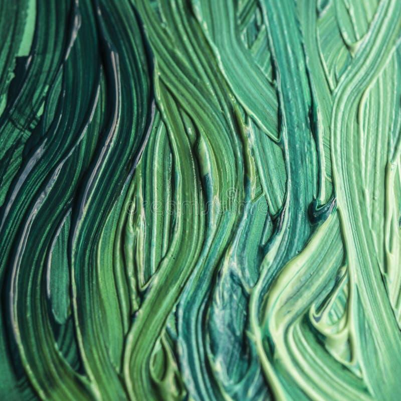 zielonej farby zdjęcie royalty free