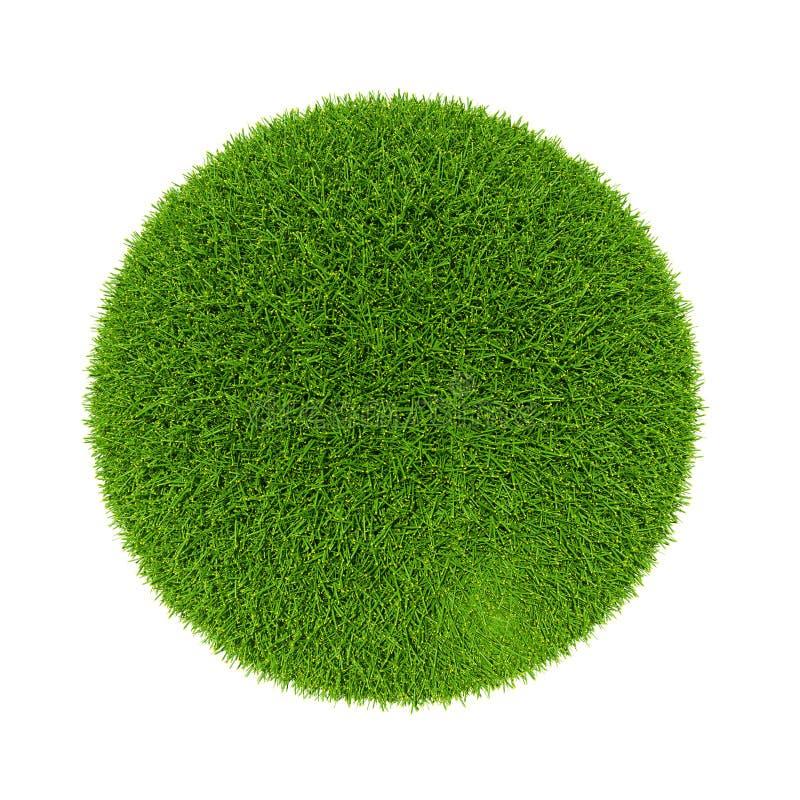 Zielonej planety Łatwa wersja 01-2 fotografia royalty free