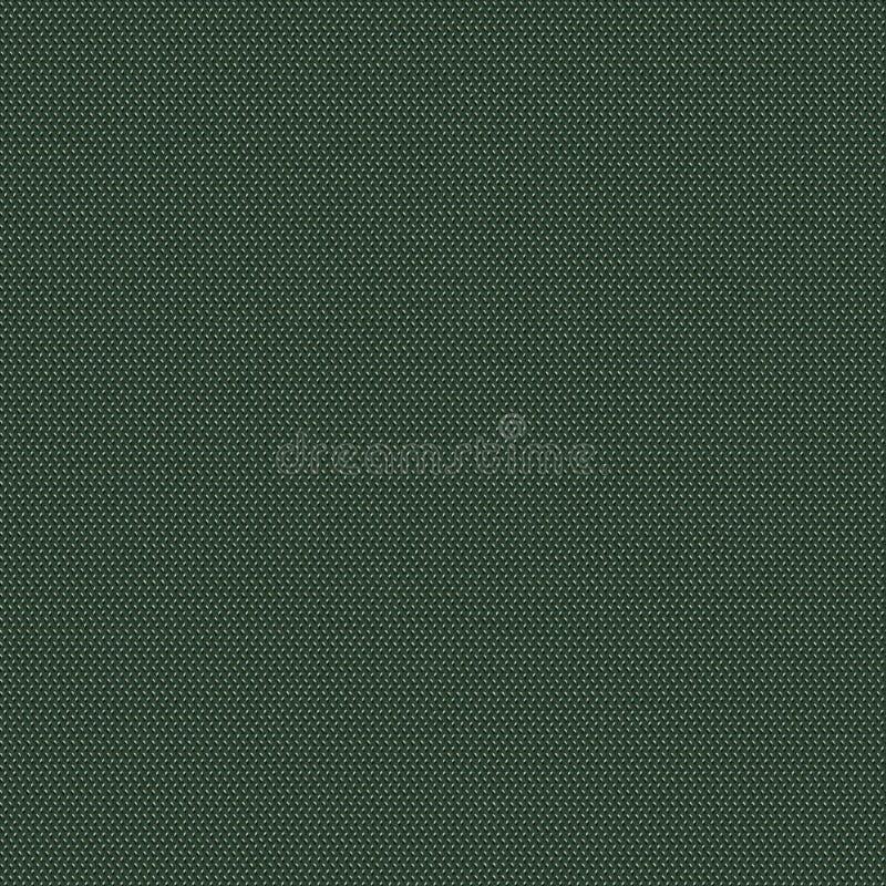 Zielonej tkaniny bezszwowa tekstura Tekstury mapa dla 3d i 2d zdjęcia stock