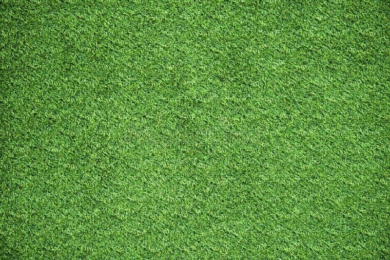 Zielonej trawy tła tekstura dla aktywność golfa piłki nożnej sporta ziemi lub obszaru trawiastego projekta zdjęcie stock