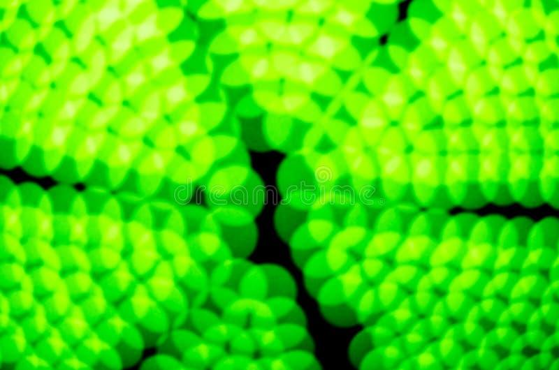 Zielony światło blured bokeh tło obraz stock