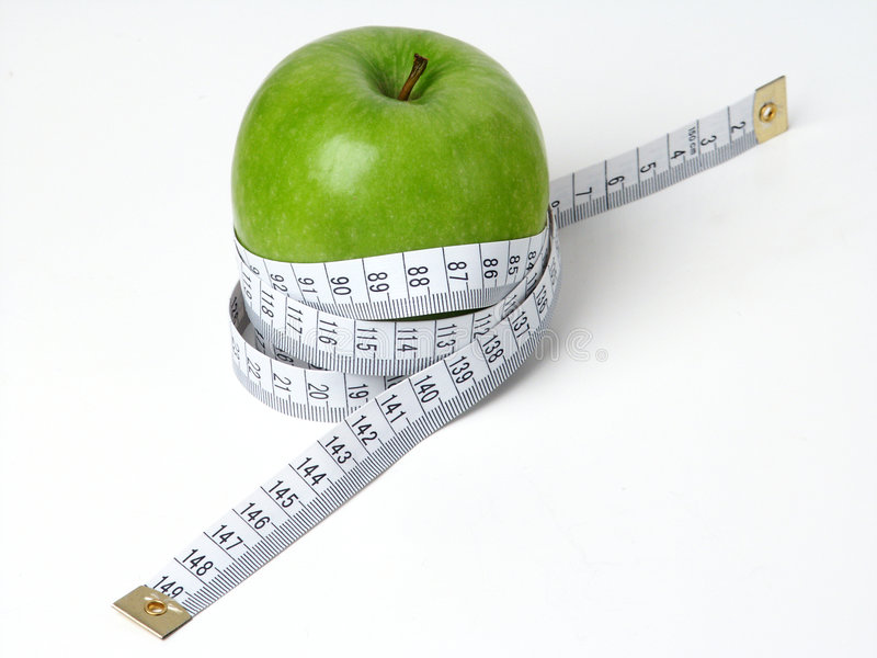 Zielony Apple fotografia stock