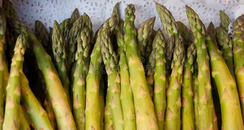 Zielony asparagus zdjęcia royalty free