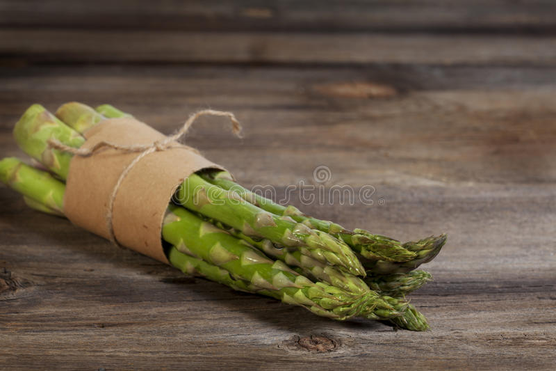Zielony asparagus fotografia stock
