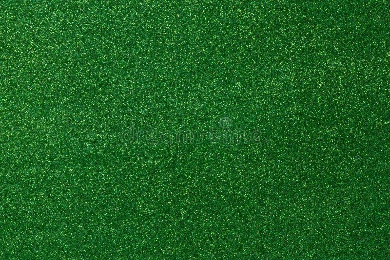 Zielony błyskotania tło zdjęcia royalty free