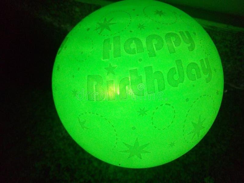 Zielony baloon obraz royalty free