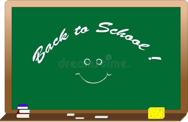 zielony blackboard tekst ilustracji
