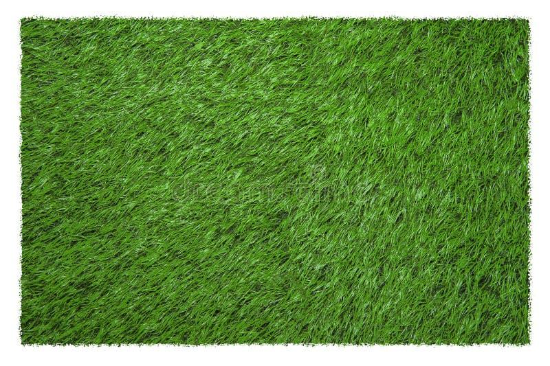 Zielony boisko piłkarskie widok od above obraz stock
