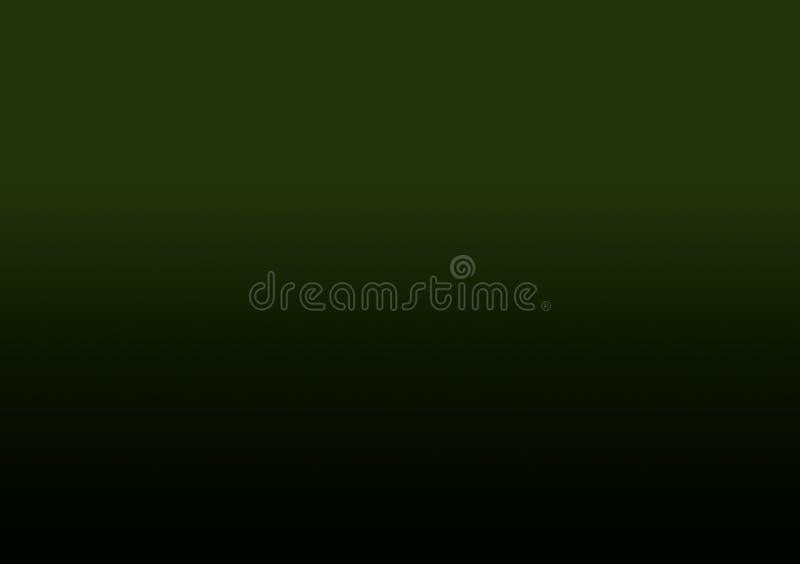 Zielony ciemny gradientowy tło dla tapety ilustracji