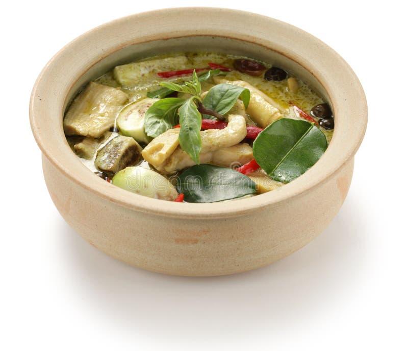 Zielony curry zdjęcia royalty free