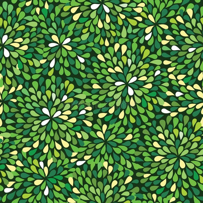zielony deseniowy bezszwowy ilustracji