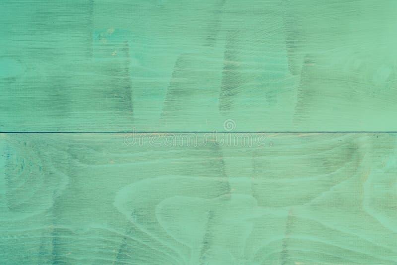 Zielony drewniany tło obraz royalty free