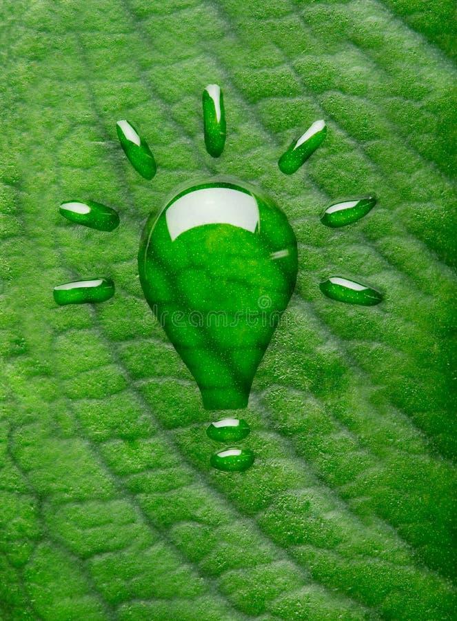 Zielony energetyczny pojęcie zdjęcia royalty free