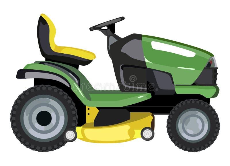 zielony gazonu kosiarz royalty ilustracja