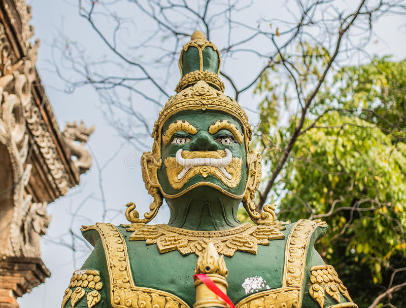 Zielony gigant obraz royalty free